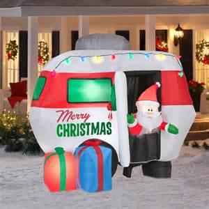 5 5 tall x 4 5 long animated christmas inflatable walmart com