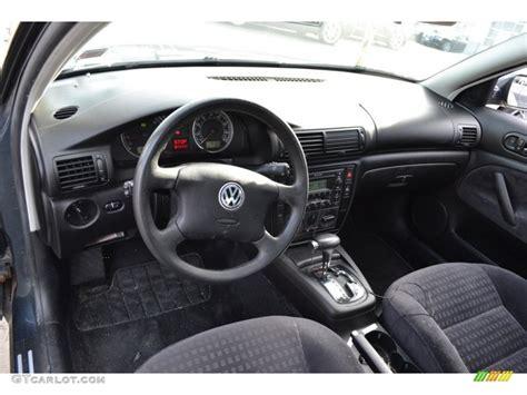 volkswagen passat black interior black interior 2002 volkswagen passat gls sedan photo