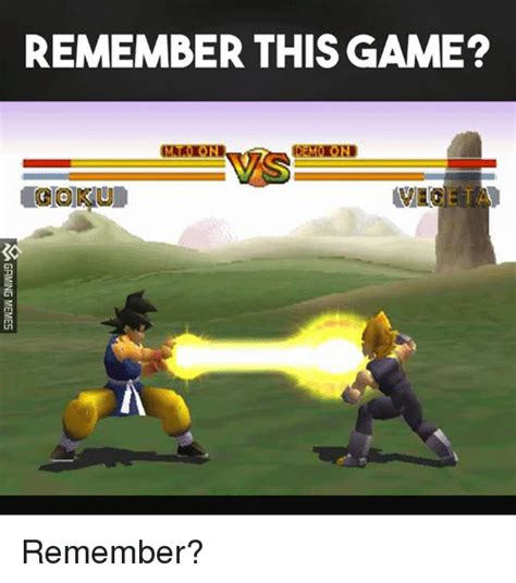 Meme The Game - remember this game i gokiod gaming memes remember