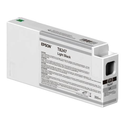 T824b Epson Surecolor P7000 P9000 Ink Cartridge 350ml Green Epson Surecolor Sc P6000 Light Black Ink Cartridge 350ml