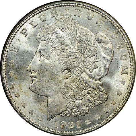 value of silver dollars 1921 1921 d dollar ngc ms 63 denver mint