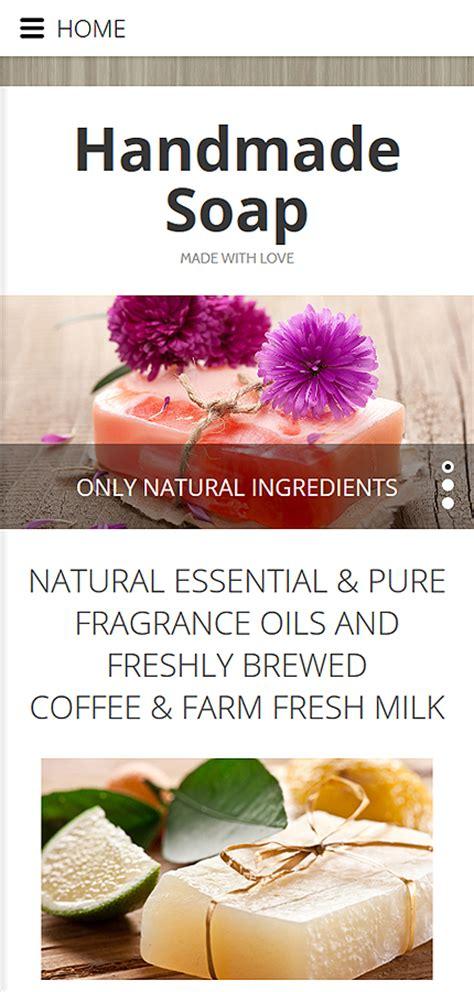 Handmade Soap Websites - handmade soap website template website templates