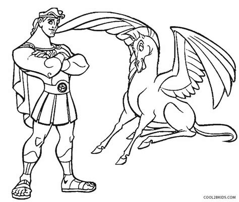 Mythology Coloring Pages Printable by Printable Pegasus Coloring Pages For Cool2bkids