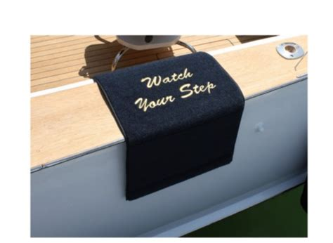 Custom Boat Mats cape hatteras custom boat boarding mats sandie s galley more