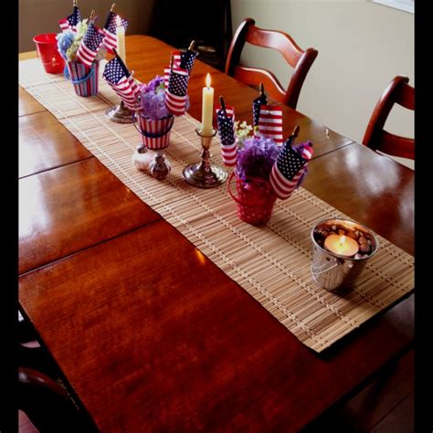 4th of july table decorations the holidays