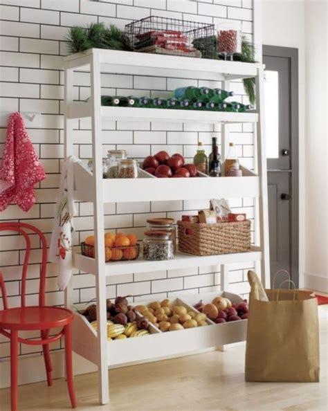 standing wood kitchen shelves kitchen storage