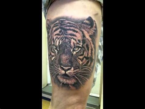 black and grey tattoo youtube tiger tattoo black and grey youtube