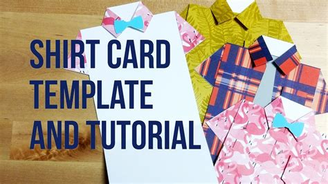 S Day Shirt Card Template by Tutorial Free Template Origami Shirt Greeting Card