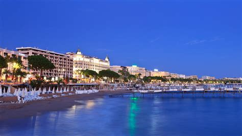 Cannes In A by Hd Wallpaper Cannes Seafront Paradise Evening