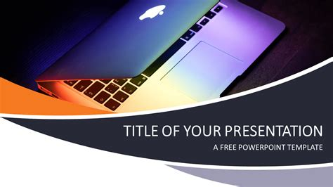 Technology And Computers Powerpoint Template Presentationgo Com Powerpoint Free