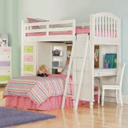 White Bunk Bed With Desk Underneath White Wooden Bunk Bed With Desk Underneath Plus White Chairs And Colorful Closet Design