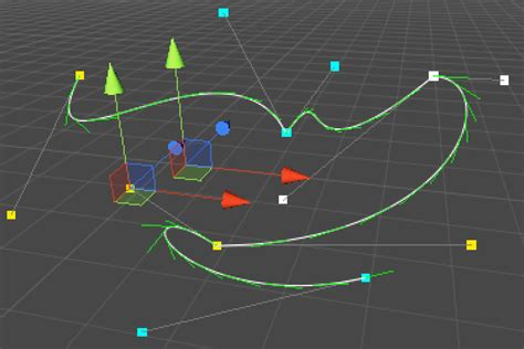 unity tutorial vector unity c 教程 绘制三维曲线和样条 设定自定义路径 蛮牛译馆 游戏蛮牛 ar增强现实 虚拟现实
