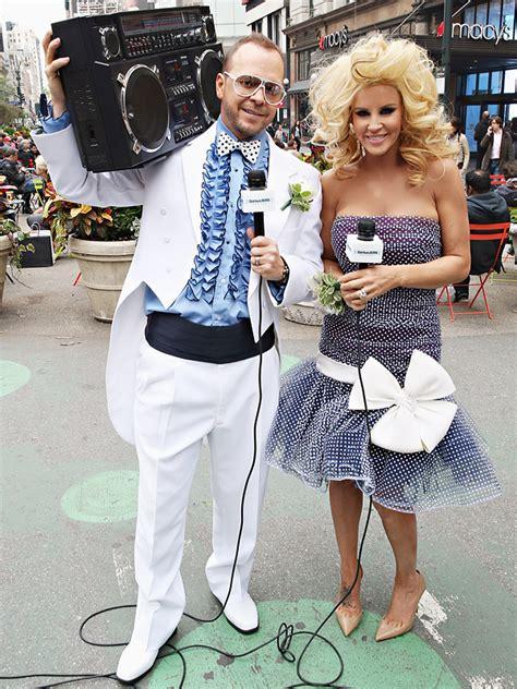 jenny mccarthy prom jenny mccarthy wears original prom dress with donnie
