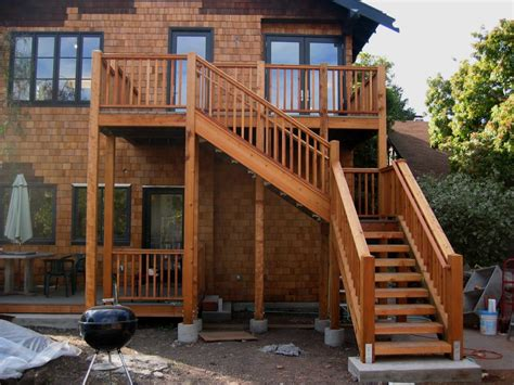 deck stairs ideas deck stair railing home