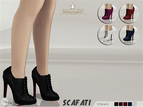 Sims 4 Shoes The Sims Resource | mj95 s madlen scafati boots