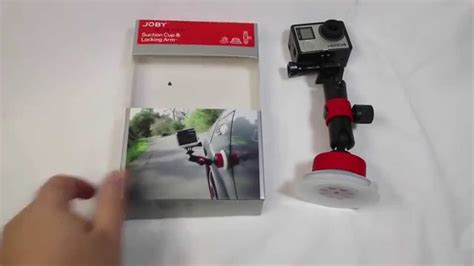 Joby Suction Cup Locking Arm joby suction cup locking arm unboxing review jobyinc