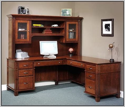 landon desk with hutch oak office depot desk hutch realspace landon desk with hutch