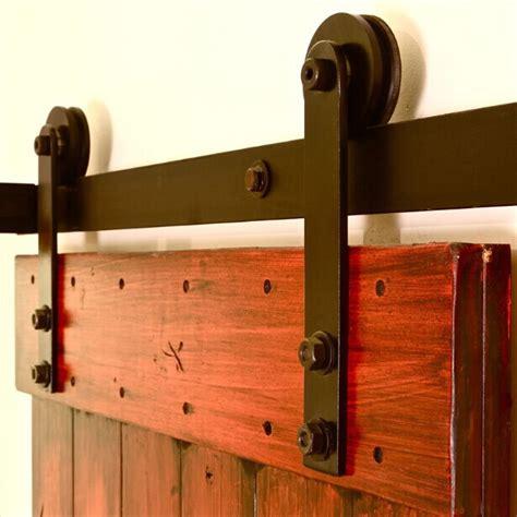 Sliding wood door barn door hardware for interior doors in doors from