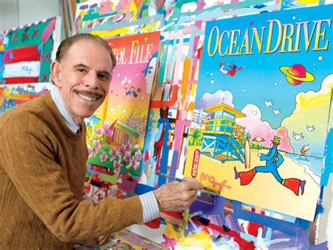 Biography Of Peter Max Artist | peter max captures the spirit of miami