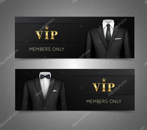 imagenes vip gratis empresario traje banners horizontales de tarjetas vip