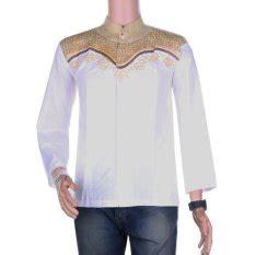 Kk171 Baju Koko Koko Azril Motif 1 jual baju muslim pria terbaik termurah lazada co id