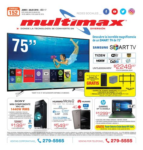 Tv Multimax catalogo multimax julio 2016 by interiores estilo issuu