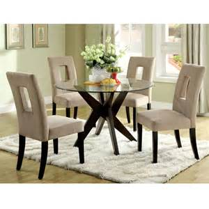 round glass top dining room table marceladick com