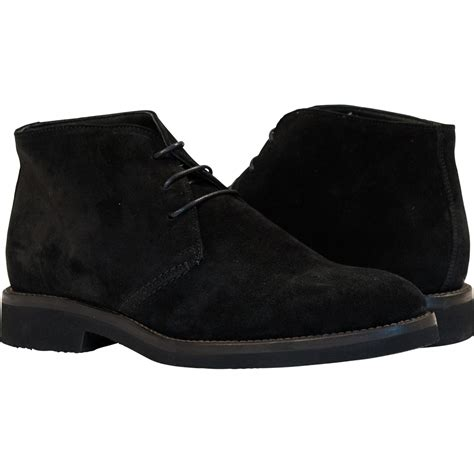 black suede mens boots michael black suede desert chukka boots paolo shoes