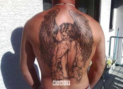 angel wing tattoo for men wing ideas and wing designs page 9