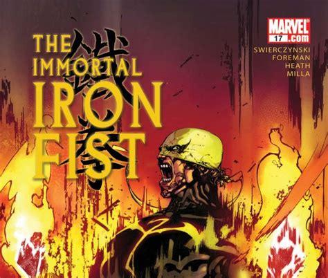 libro immortal iron fist the immortal iron fist 2006 17 comics marvel com