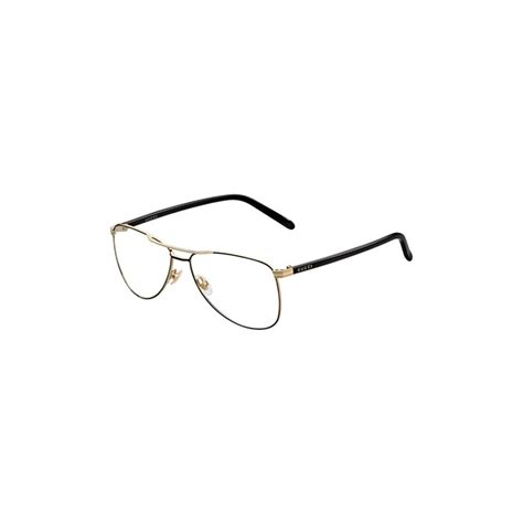 Aviator Metal Eyeglasses Frame gucci womens eyeglasses 4218 wru 14 metal aviator black
