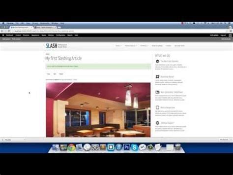 drupal theme youtube adding a new article slash responsive drupal theme youtube