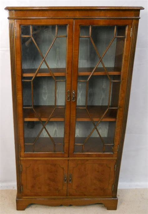 Yew Bookcase yew bookcase cabinet sold