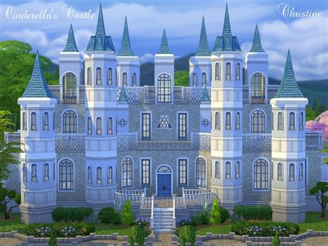 Best House Plan Websites the sims resource cinderella s castle by cm 11778 sims