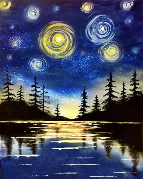 paint nite sault ste paint nite starry lake saultonline