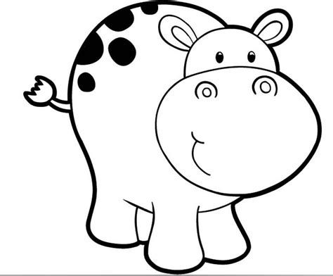 baby hippo coloring pages pictures to pin on pinterest
