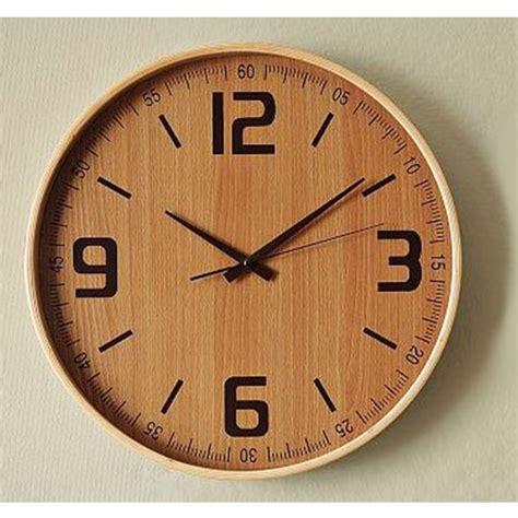 buy kairos wooden wall clock    decor