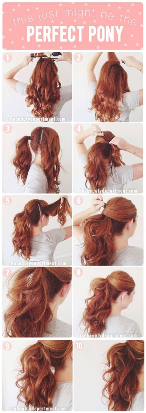 ponytail hairstyles for all lengths of hair tutorial 15 perfect ponytail hairstyles and tutorials for all women