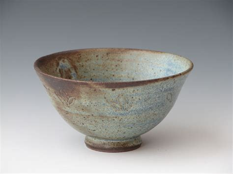 Handmade Ceramic Bowl - sabal chawan teabowl handmade ceramic bowl stoneware pottery
