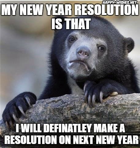 New Years Resolution Meme - best happy new year resolution memes happy wishes