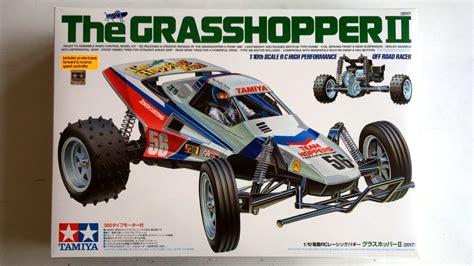 Tamiya R C Grasshopper unboxing the new tamiya grasshopper ii 2017 re release