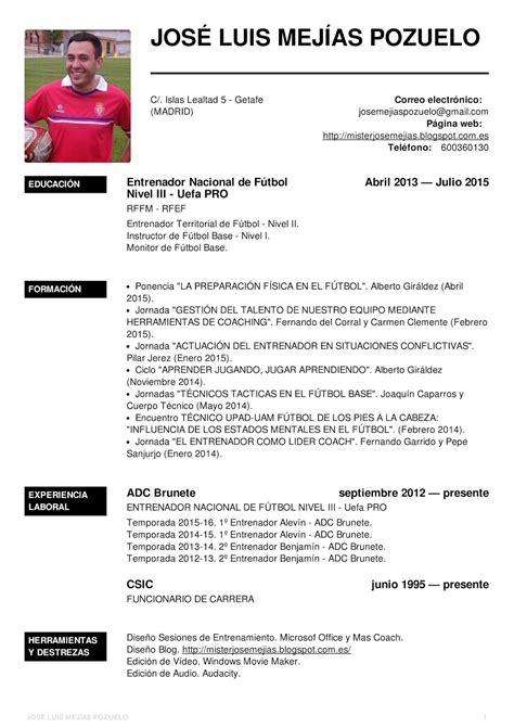 Modelo De Curriculum Deportivo Karate Como Hacer Un Curriculum Vitae Como Hacer Un Curriculum De Jugador De Futbol