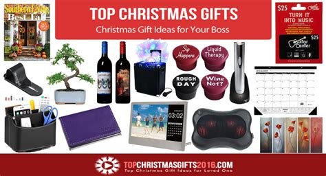 best christmas gift ideas for your boss 2017 top
