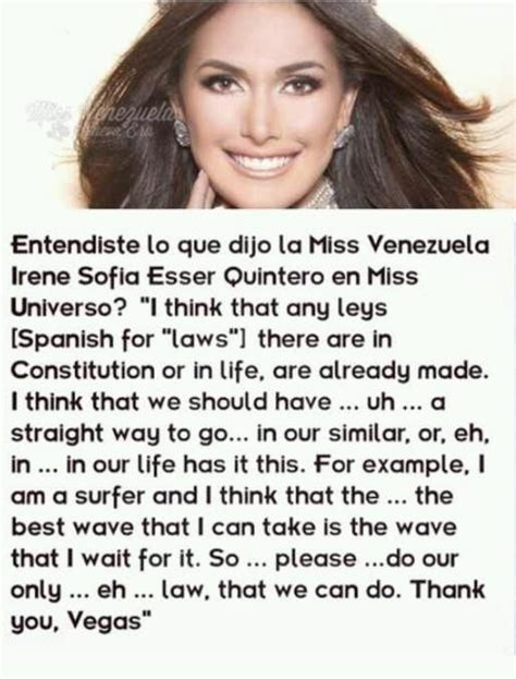 beauty with brains best answers at miss universe pageant beauty or brains please no miss universe answers