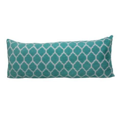 Pillows Walmart by Your Zone Trellis Pillow Teal Walmart