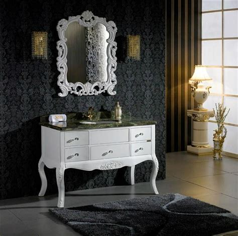 Classic Bathroom Furniture Classic White Antique Hotel Bathroom Furniture Unite 305 Sesol China Manufacturer