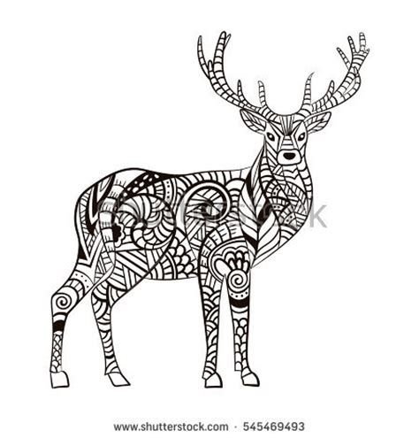 hard deer coloring pages hard pages for adults deer coloring pages