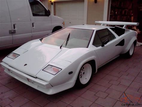 Lamborghini Chassis For Sale Lamborghini Countach 5000s All Chassis V 8 Replica