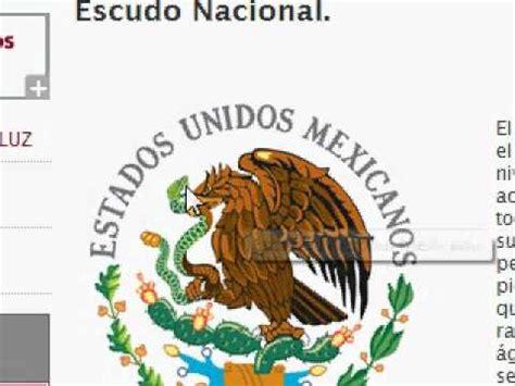 imagenes simbolos patrios de mexico simbolos patrios youtube