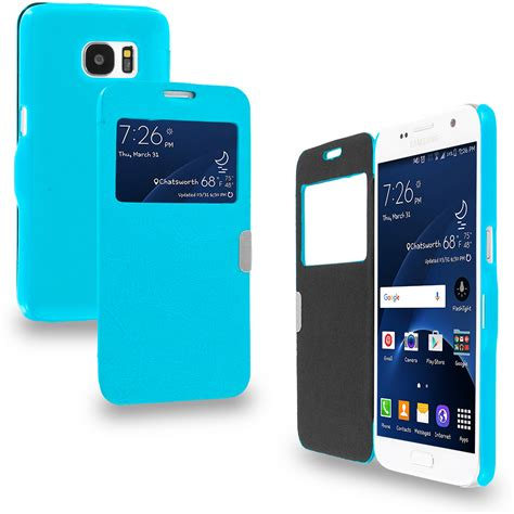 Samsung S7 Flat Baby Skin Ultra Slim for samsung galaxy s7 magnetic stylish slim flip wallet executive cover ebay